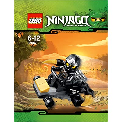 LEGO Ninjago Mini Figure Set #30087 Cole ZXs Car Bagged: Toys & Games