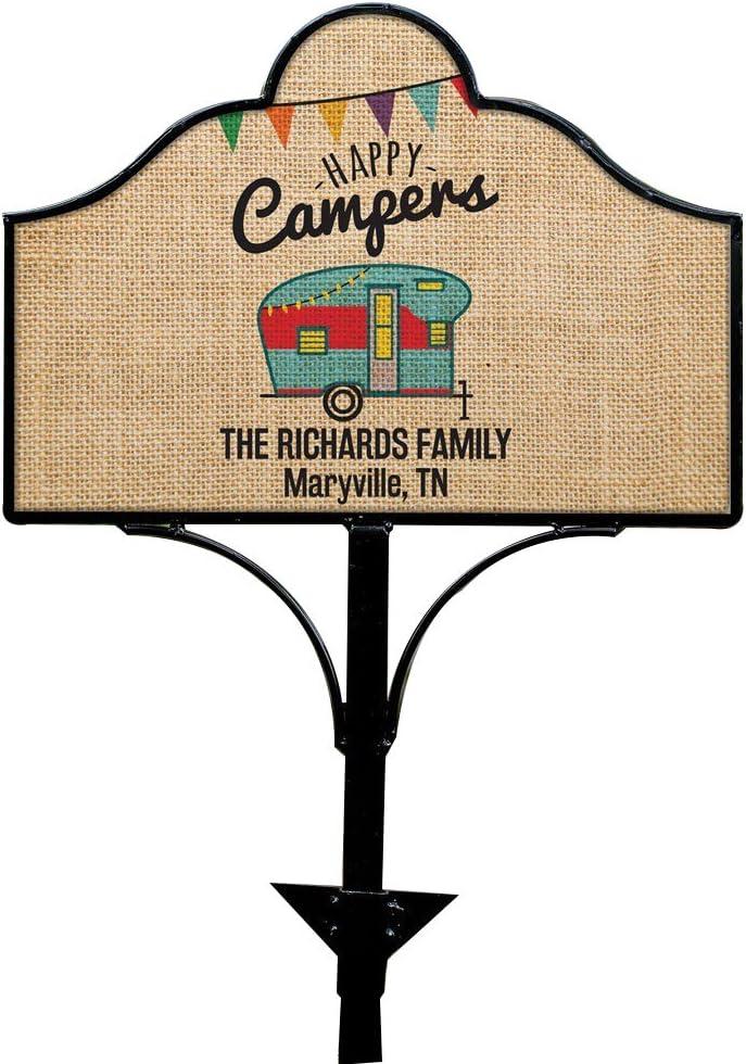Camper Magnet Camper Van Wood Magnet Camper Trailer Engraved Magnet Single Wheel Camper Tow Behind Camper Camping Trailer Magnet