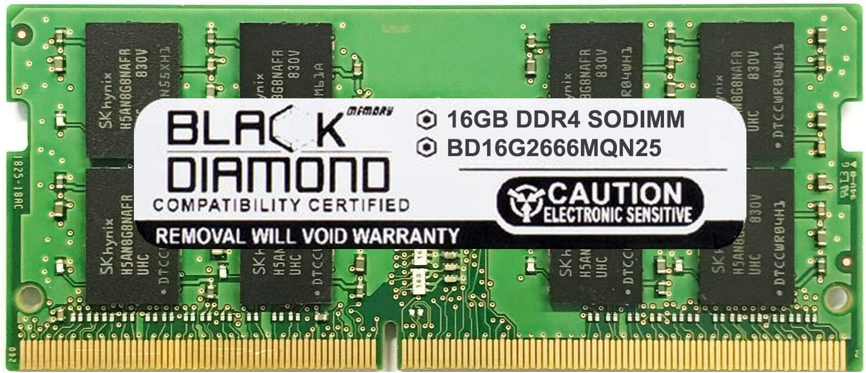 16GB DDR4 2666 PC4-21300 SODIMM Laptop Notebook Memory Upgrade RAM 260-pin (2Rx8) 260 pin 1.2V Non ECC Non REG
