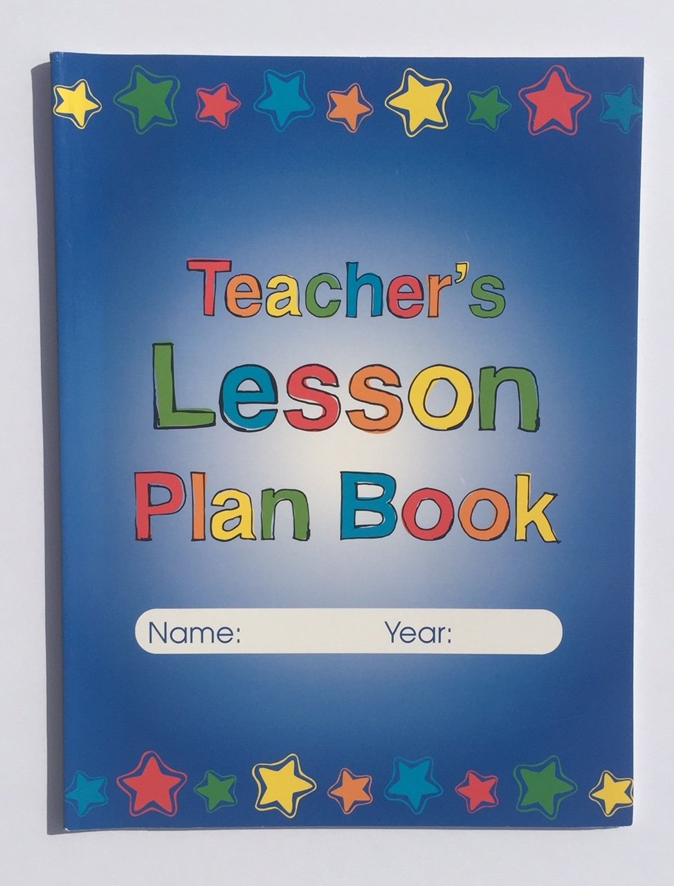 Teacher Grade Lesson Plan Book Teaching School Planner Student Hall Passes Classroom Homeschool Supplies Gifts 5 Piece Set by McCormick Imports (Image #3)