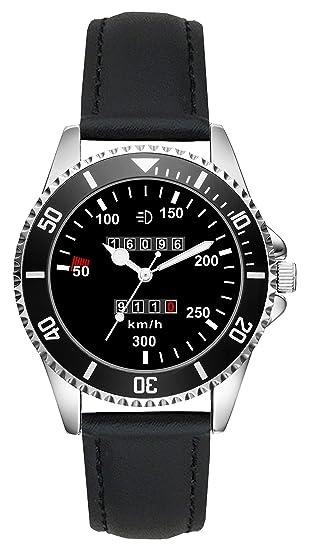 Regalo para Porsche 911 Fan Conductor Kiesenberg Reloj L-20621: Amazon.es: Relojes