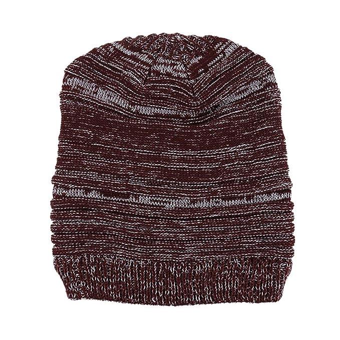 Ursing Männer Mode Beiläufig Warm Halten Winter Häkeln Hüte