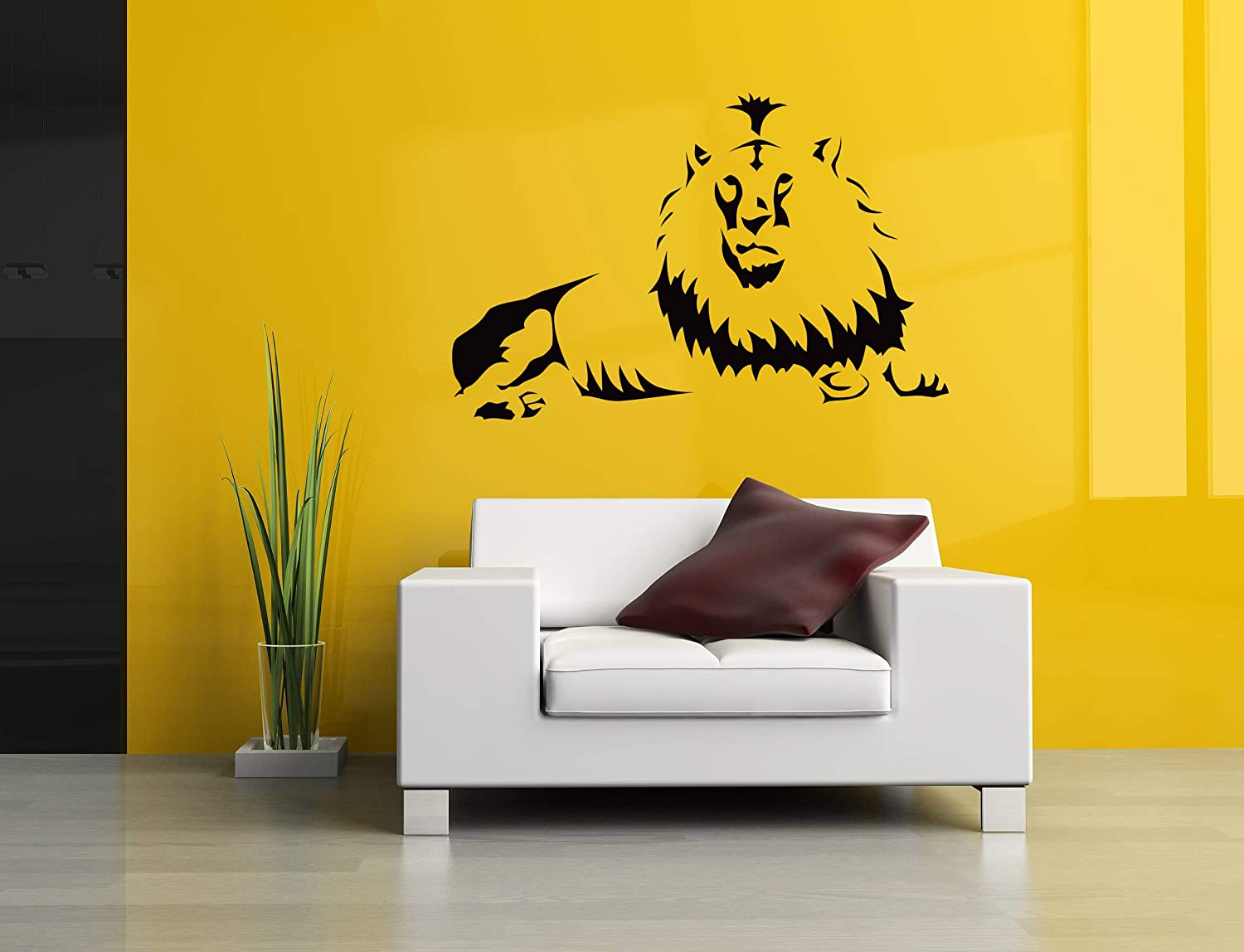 Pantha Wild Cat Animal Zoo Wall Art Decal Sticker Picture Poster