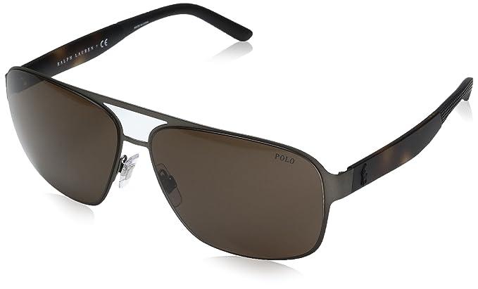Ralph Lauren POLO 0PH3105 Gafas de sol, Matte Brown, 62 para ...