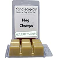 Candlecopia Nag Champa Strongly Scented Sustainable Vegan Natural Soy Wax Melts