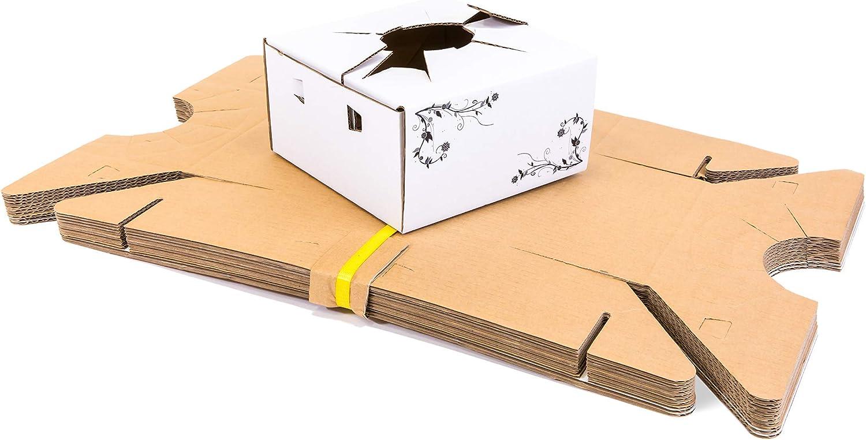 Amazon Com Delivery Boxes Cardboard L Flower Delivery Box L Vase Boxes Cardboard For Delivery L Florist Delivery Boxes 8 X 8 X 4 L Bundle Of 10 Industrial Scientific