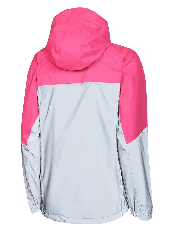 Madison Stellar Reflective womens waterproof jacket silver//pink glo size 14