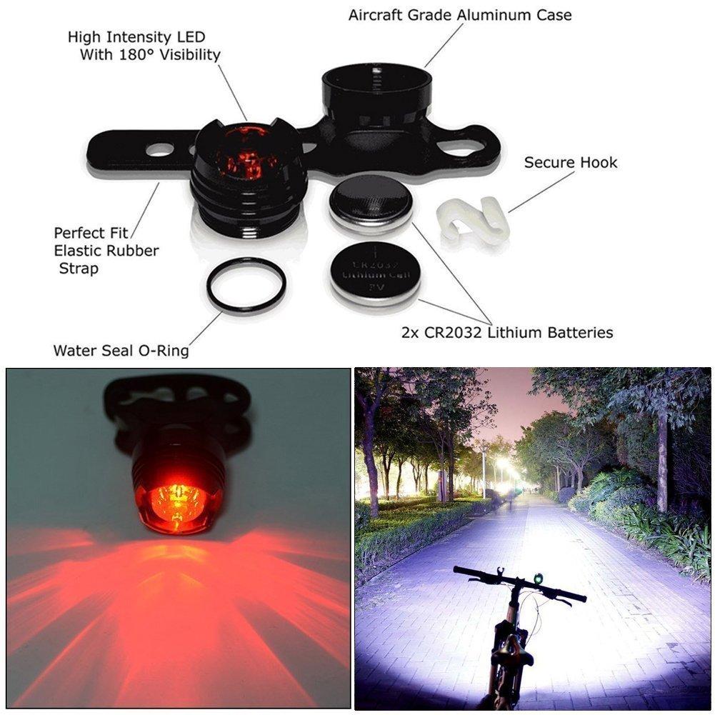 BYBO/® Bike Bicycle Cycling Lights Cree XML T6 LEDs MTB Mountain Headlight Headlamp Waterproof USB Rechargeable Torch 8.4V 18650 Battery Pack 8000mAh 5600 Lumens