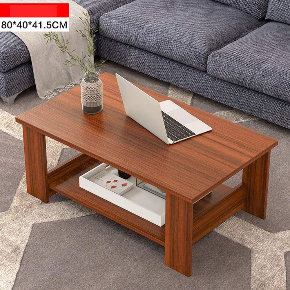 Goedkoop Moderne rechthoekige salontafel van MDF decor sofa side tafelblad eenvoudig te reinigen bijzettafel voor thuis en slaapkamer  Oro rosa + oro rosa IGawo8G