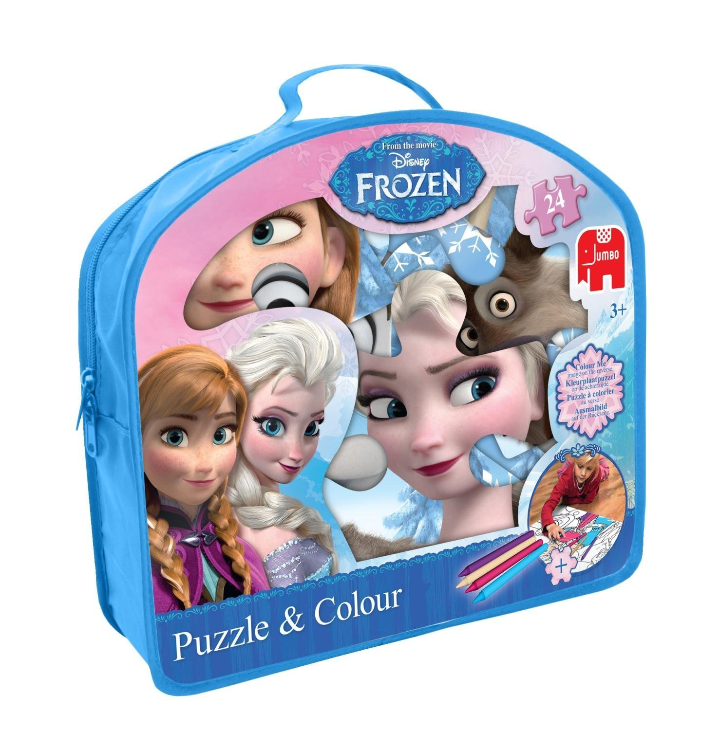 Kleurplaten Film Frozen.Buy Disney Frozen Giant And Color Floor Jigsaw Puzzle 24 Piece