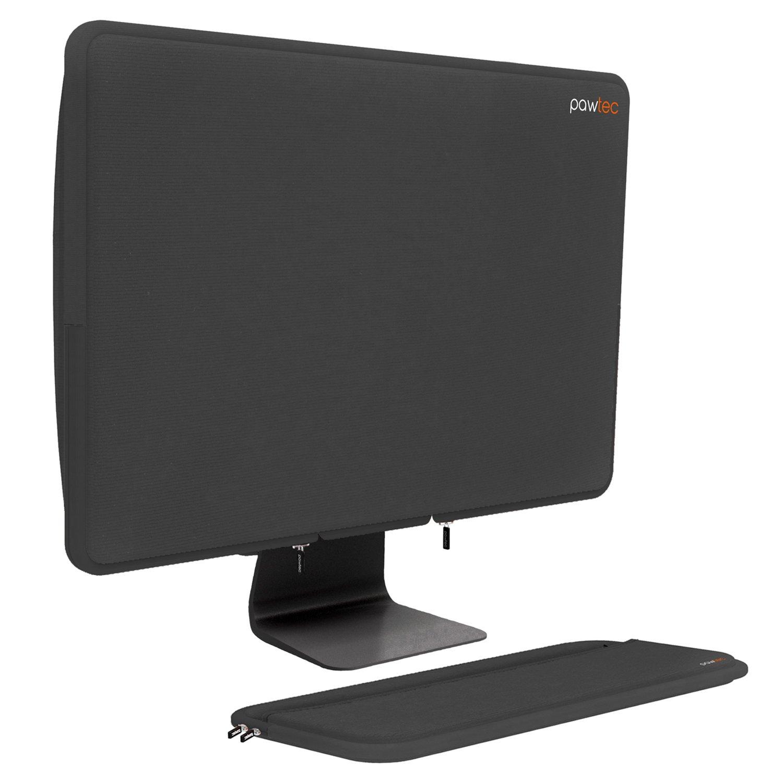 Pawtec 27-inch iMac Pro Neoprene Full Body Sleeve Bundle Dust Protection, Storage Transport Cover Case Fullsize Keyboard Cover (Space Gray)