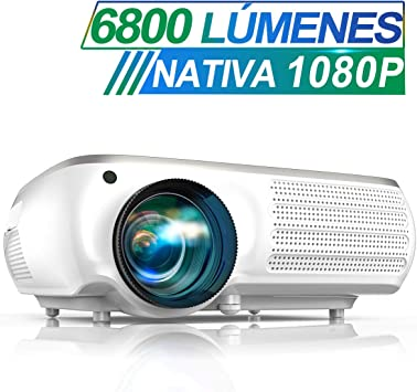 Proyector, TOPTRO 6800 Lúmenes Proyector Full HD 1920x1080P Nativo ...