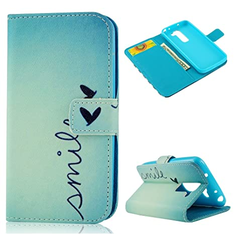Amazon.com: VCOER PU Leather dear Heart Style Case Cover ...