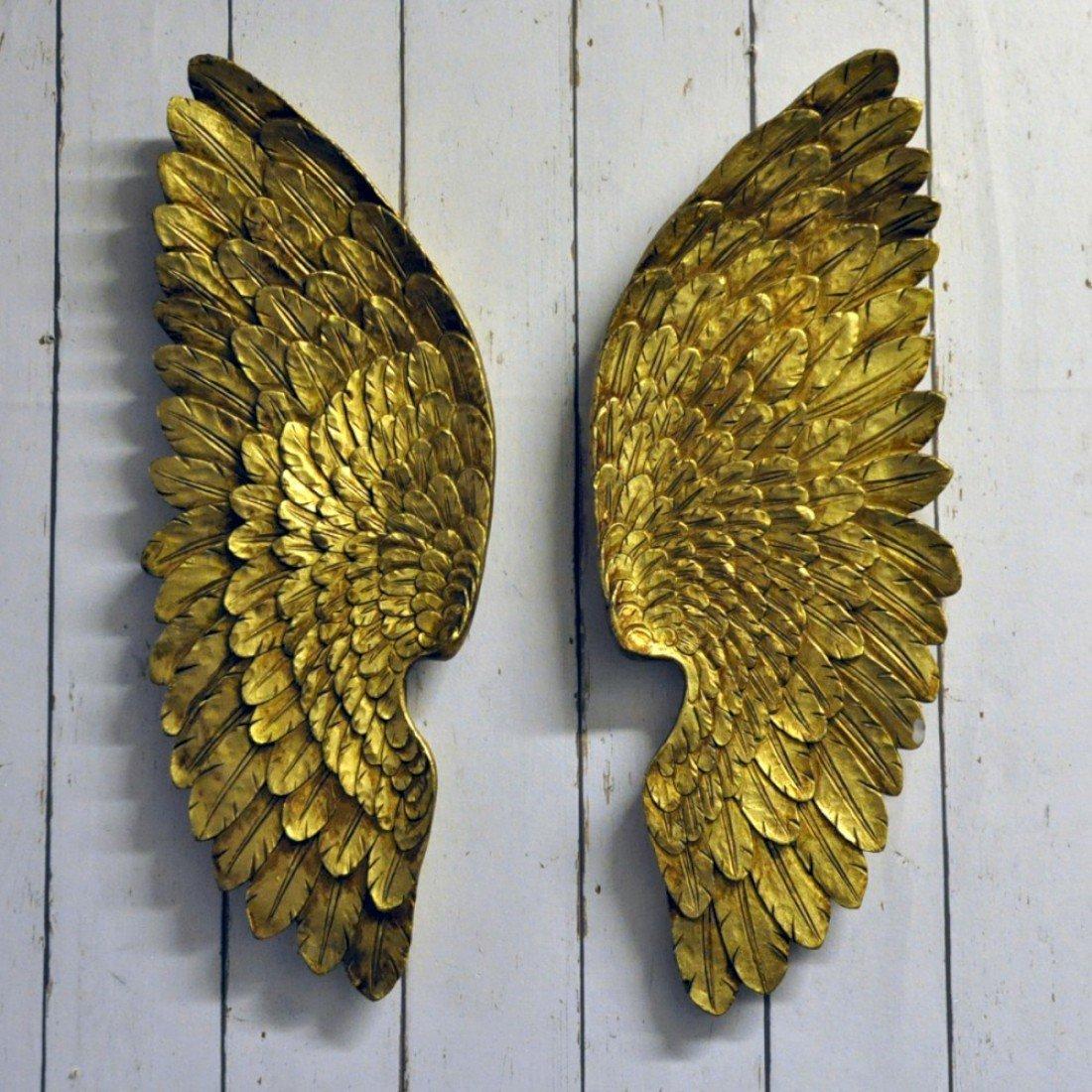 Attractive Angel Wing Wall Art Crest - Art & Wall Decor - hecatalog.info