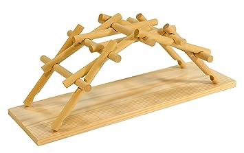 Da Leonardo La Puente Madera VinciAmazon Ciencia De Modelo rBWdCexo