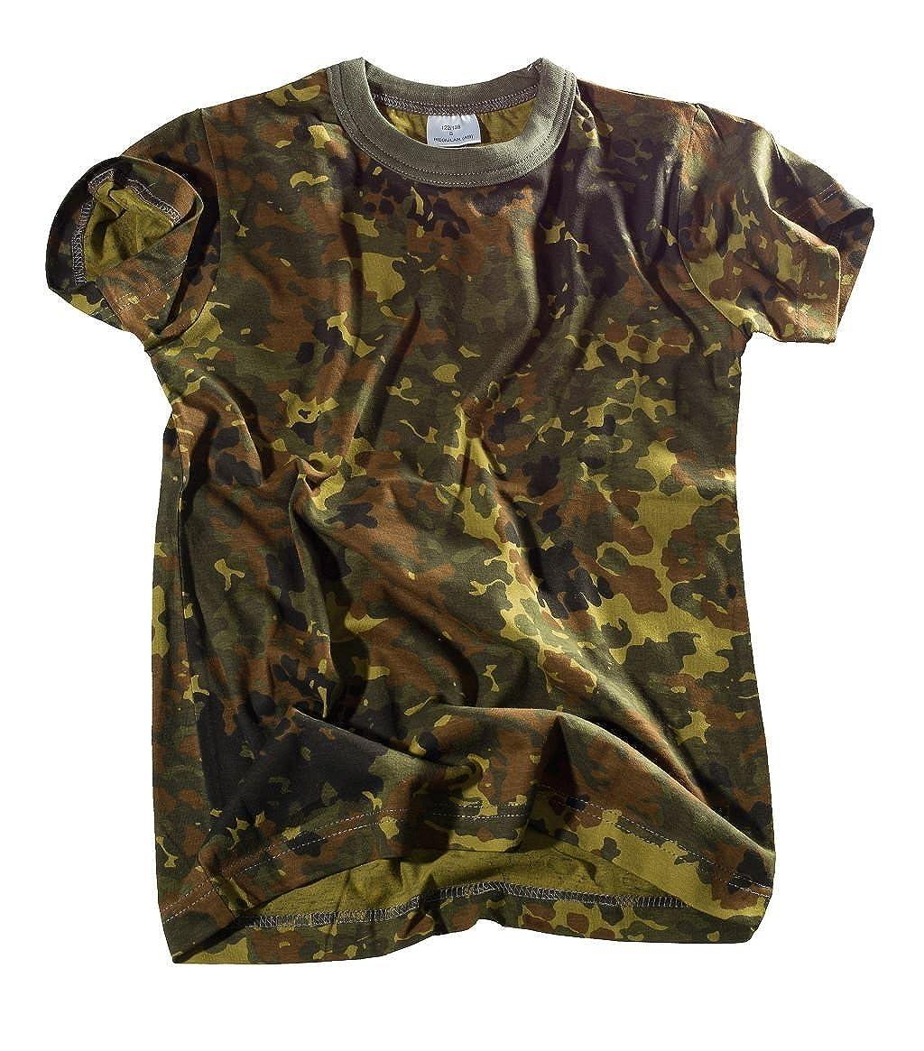 Bequemes US Army Style Kinder T-Shirt in verschiedenen Farben S-XXXL