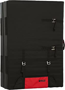 LACD Crash Pad Spot Master 2.0 – Black/Red – One Size ...