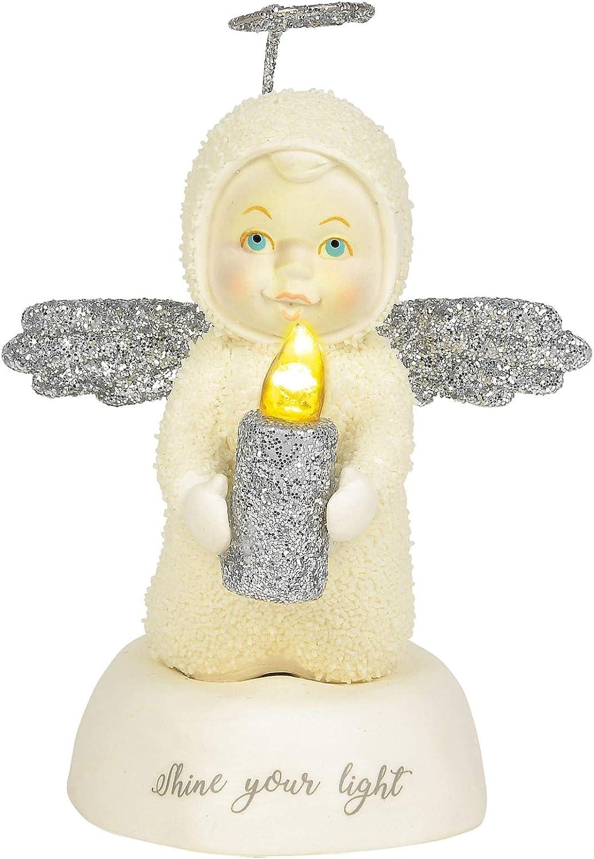 Multicolor Department 56 Snowbabies Shine Your Light Figurine 4.25