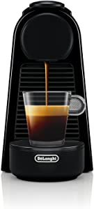 Nespresso by De'Longhi EN85B Nespresso Essenza Mini Espresso Machine, Black