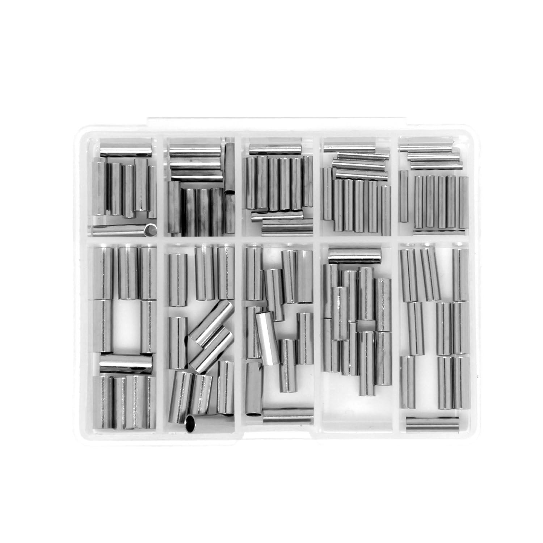 2019人気特価 samsfx釣りワイヤSingle Barrelクリンプ袖 0.8-2.5mm 100 pieces, 0.8-2.5mm 100 pieces, inside diameter B077MXK75V, 家具の のぐち J-select:401d25cf --- a0267596.xsph.ru