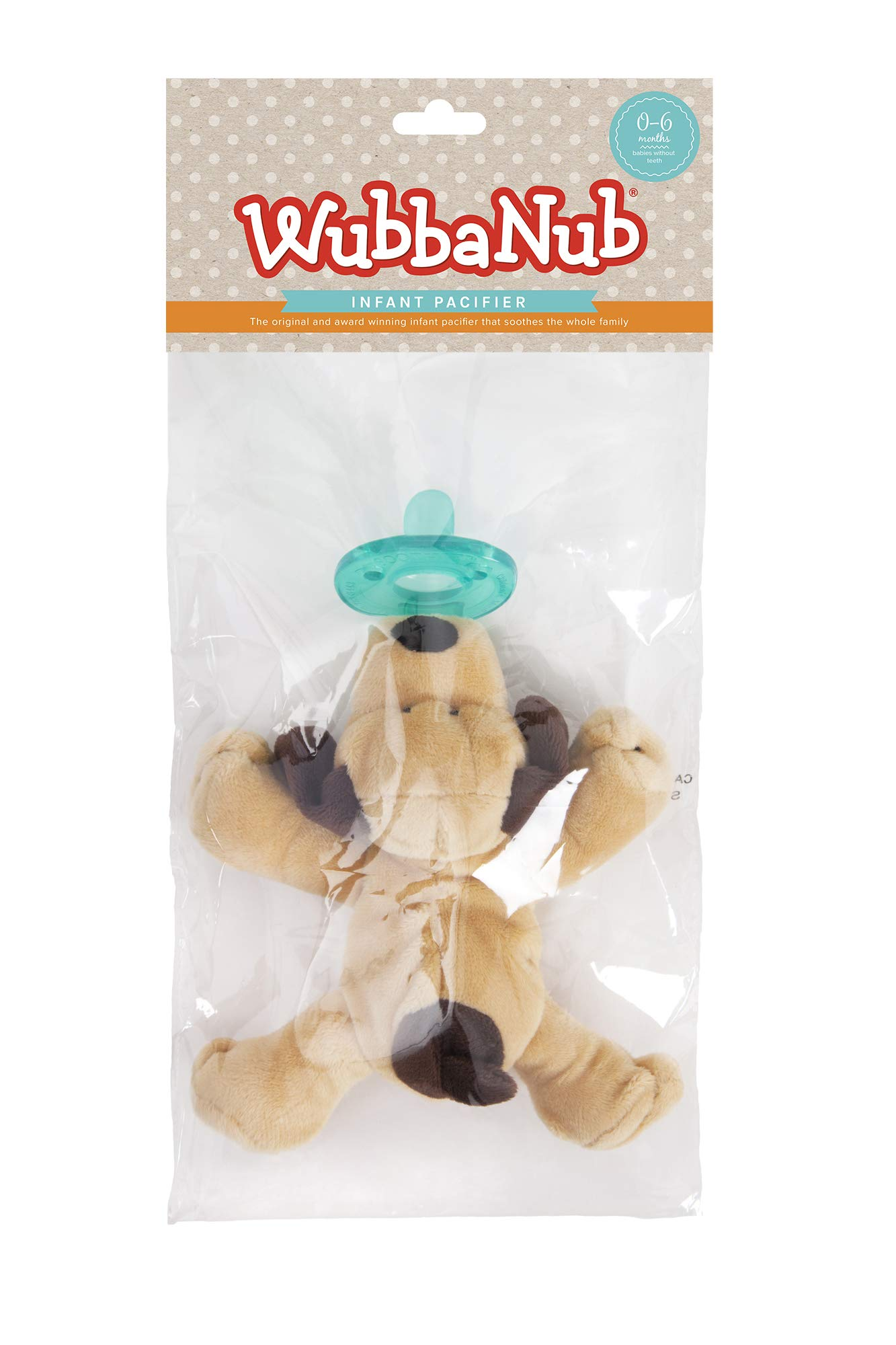 WubbaNub Infant Pacifier - Brown Puppy by WubbaNub (Image #7)