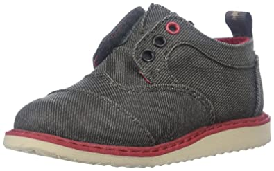 TOMS Kids Brogue Dress Ash Twill Boys free delivery