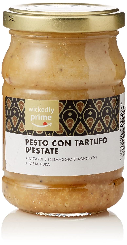 Marca Amazon - Wickedly Prime - Salsa pesto de trufa de verano negra (6 x190g): Amazon.es: Alimentación y bebidas