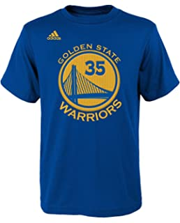 36033a7dcc0 adidas Kevin Durant Golden State Warriors Youth Boys Blue Gametime Player Shirt  Boys