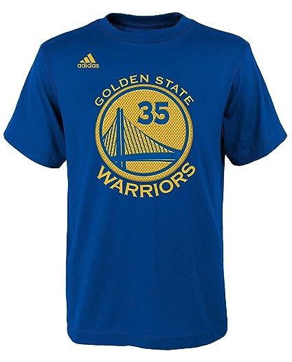 Adidas Shirt Warriors Gametime Youth Golden Kevin Durant State Player Boys Blue PkXZiu
