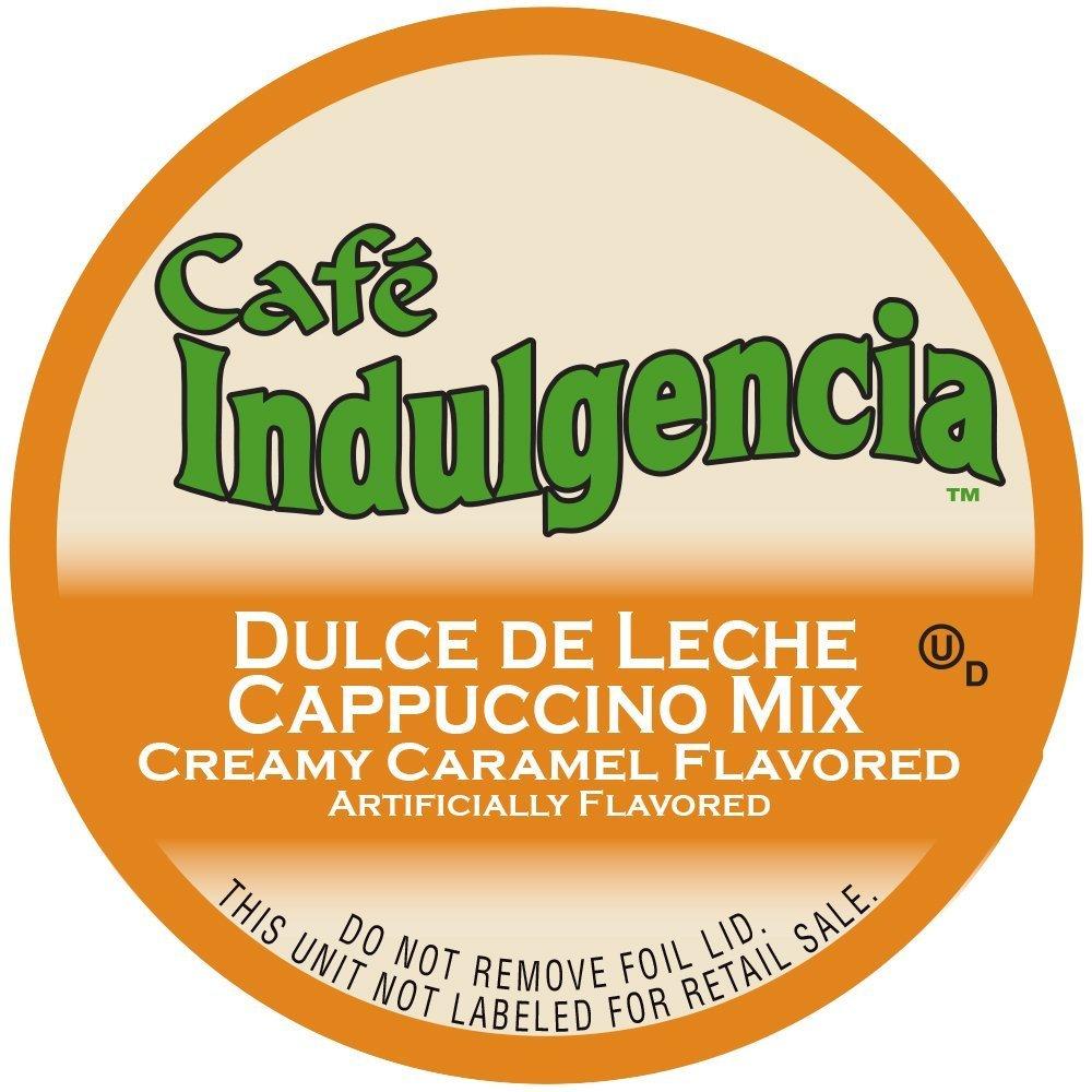 Cafe Indulgencia Dulce De Leche Cappuccino 12 Count K Cups: Amazon.com: Grocery & Gourmet Food
