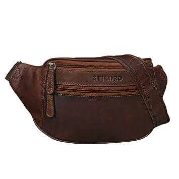 5d4910c05b94b STILORD  Marian  Gürteltasche Leder Vintage für Herren Damen Bauchtasche  Hüfttasche für Handy Kosmetik Kamera