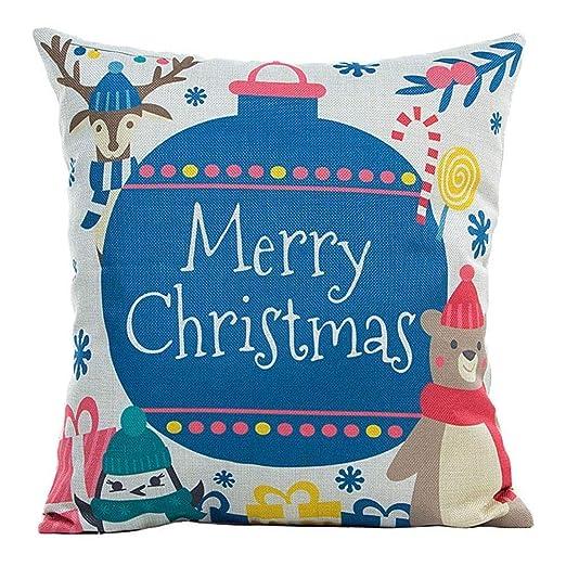 Amazon.com : Sunshinehomely 4pcs Christmas Stylish Polyester ...