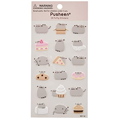 GUND Pusheen 18 Sticker Sheet: Gund: Toys & Games