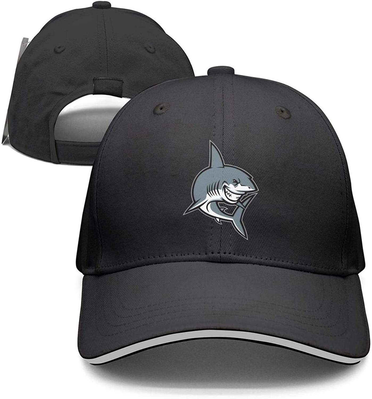 Unisex Big Shark Fake Shark Dad Cap Hip-hop Hat Adjustable Comfortable caps