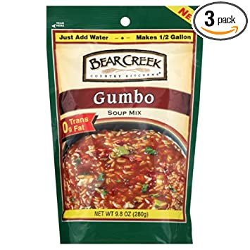 Bear Creek Country Kitchens Soup Mix Gumbo 9 8 Ounce Pack Of 3