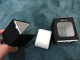 Amazon.com: J.Rosée Watch/Jewelry Box Black Large Acrylic Display