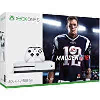 XBox One S Consola de 500 GB con Juego Madden 18, color Blanco - Bundle Edition