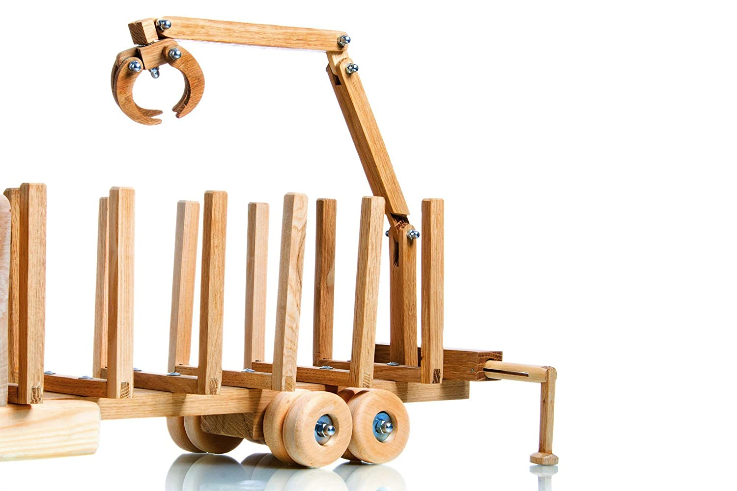 Montessori organic toy Wooden educational model for kids imagination /& motor skills Perfect birthday of Christmas gift idea for children and adults Original design wood truck for car lovers
