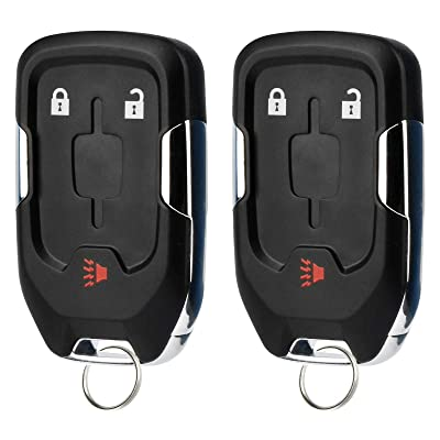 Smart Key Fob Keyless Entry Remote fits 2020 2020 GMC Terrain (HYQ1AA, 13591388), Set of 2: Automotive