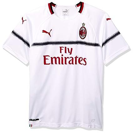 size 40 13117 392d8 Amazon.com : PUMA 2018-2019 AC Milan Away Football Shirt ...