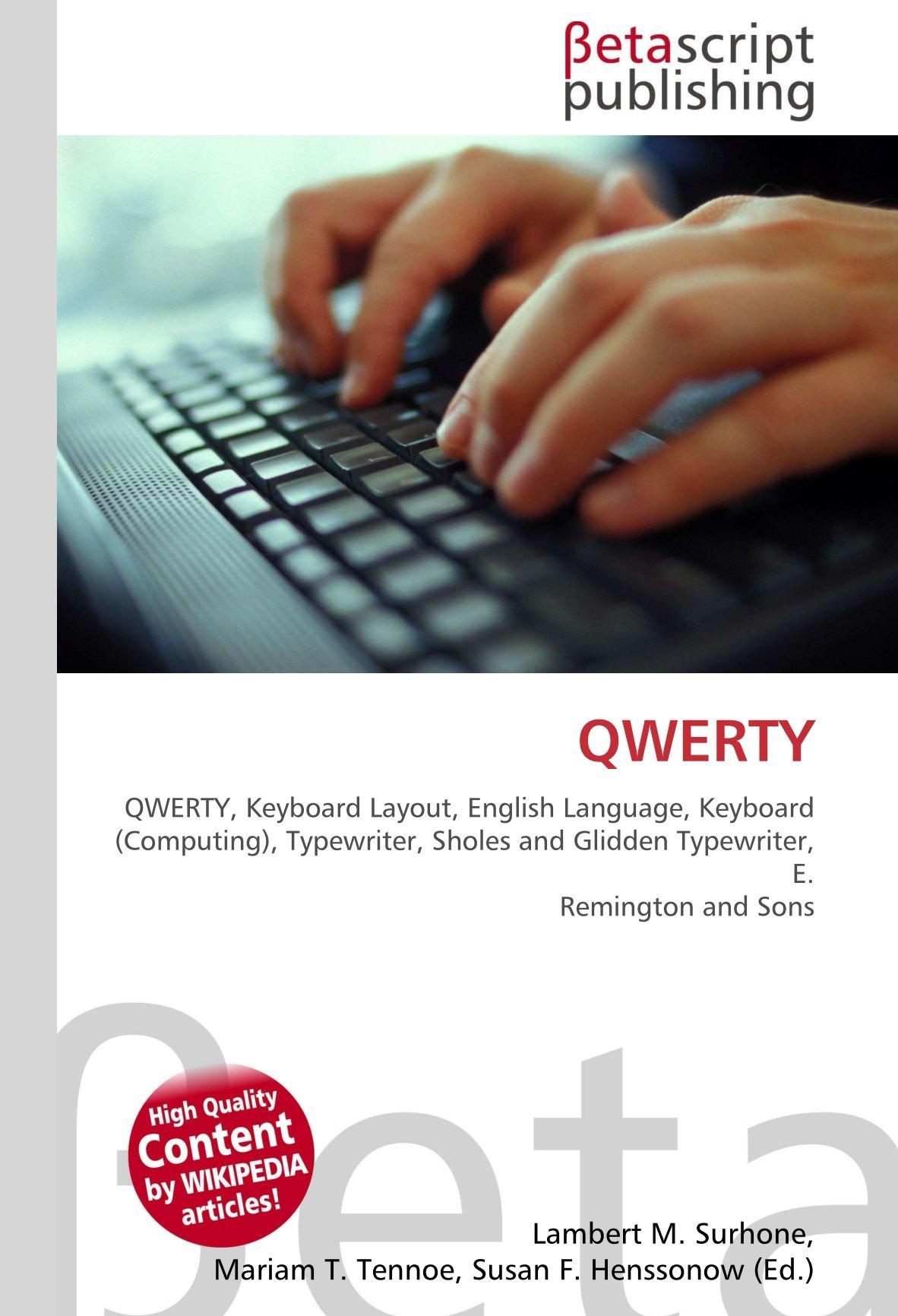 QWERTY: QWERTY, Keyboard Layout, English Language, Keyboard ...