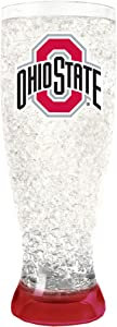 Duck House NCAA Team Logo Freezer Crystal Pilsner Glass