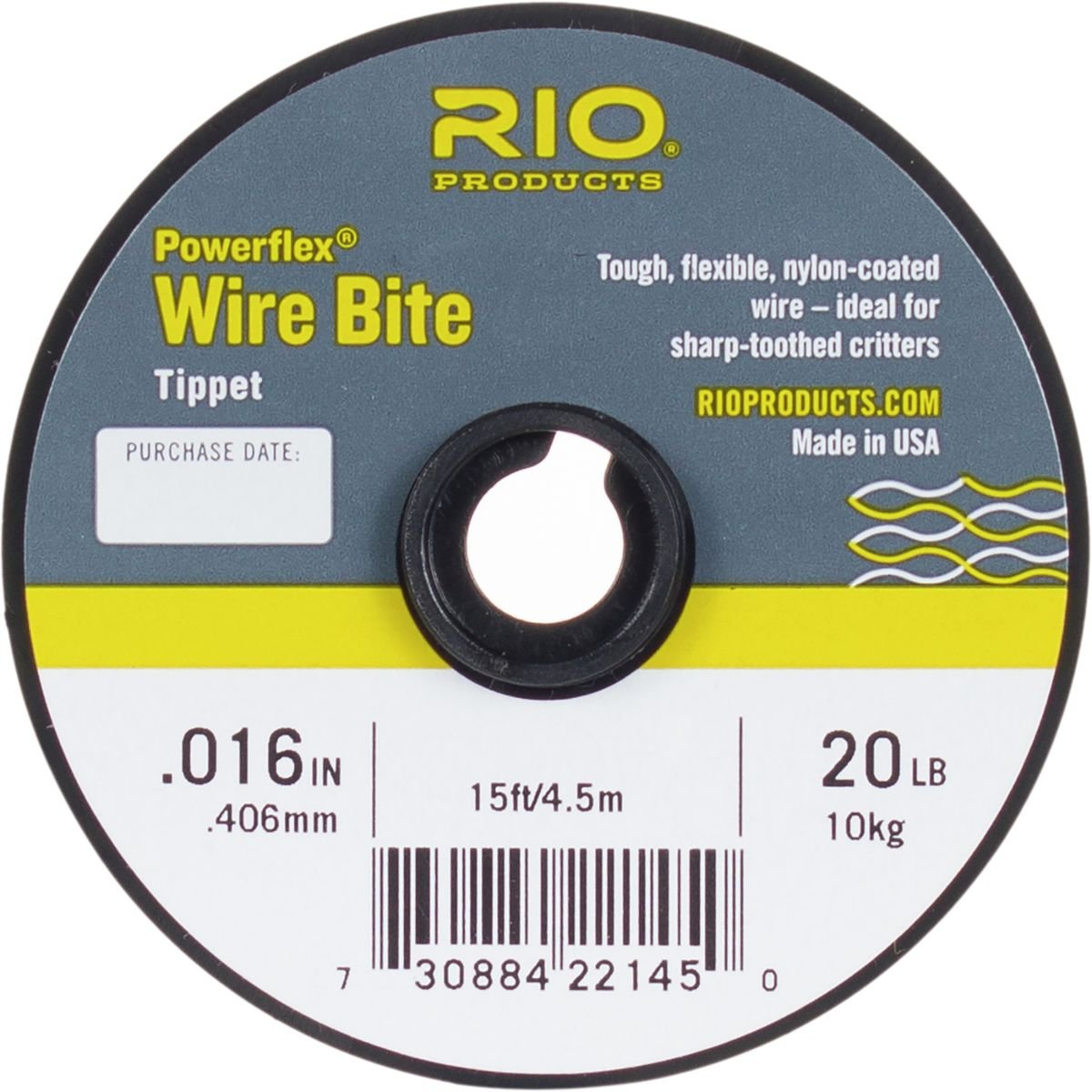 Amazon rio powerflex wire bite tippet spools nylon coated amazon rio powerflex wire bite tippet spools nylon coated sharp toothed fly fishing fly leaders and tippet materials sports outdoors geenschuldenfo Gallery