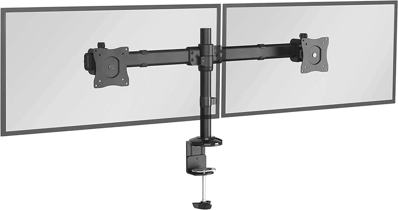 RICOO TS6211 Soporte Monitor Mesa Brazo Colgante Giratorio Inclinable Pantalla PC 13-27