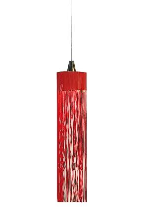 Fambuena Swing XL Lámpara de techo Rojo: Amazon.es: Iluminación