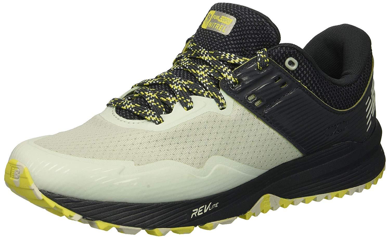New Balance Women's Nitrel V2 FuelCore Trail Running Shoe Ocean air/Thunder/Limeade 5.5 B US