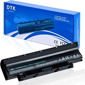 Dtk New Laptop Battery for Dell Inspiron 3420 3520 15r 17r 14r 13r N5110 N5010 N4110 N4010 N7110 N3010 M5110 M4110 M501 M503 Series, Fits P/n J1knd 4t7jn [6-cell 5200mah/49wh]