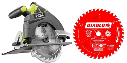 Ryobi p507 one 18 volt 6 12 in cordless circular saw bare tool ryobi p507 one 18 volt 6 12 in cordless circular saw greentooth Images