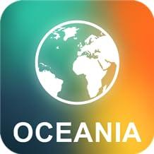 Oceânia Offline Mapa