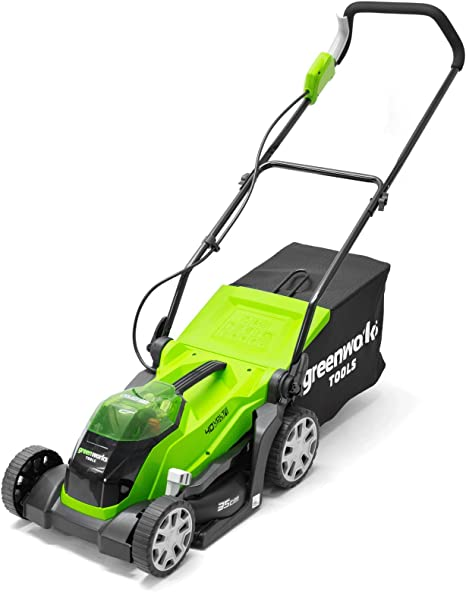 Greenworks 40V Cordless Lawn Mower - Eco-friendly